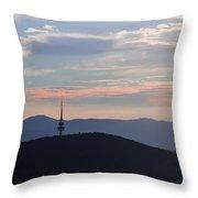 Pastel Skies Throw Pillow