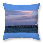 Pastel Skies Throw Pillow