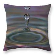 Pastel Water Sculpture 10 Throw Pillow