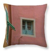 Pastel Windows Throw Pillow