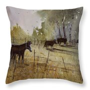 Pastoral Throw Pillow