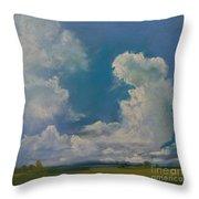 Pasture Throw Pillow