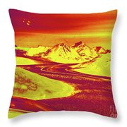 Patagonia Glacer Throw Pillow