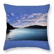 Patagonia Landscape Throw Pillow