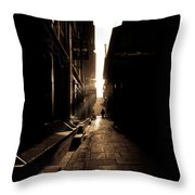 Patan Nepal Throw Pillow