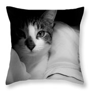 Patch Of Love Throw Pillow