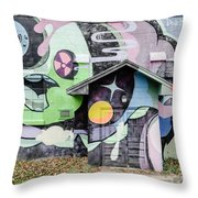Patch Whisky Throw Pillow