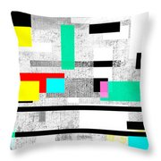 Patchwork Of Love Throw Pillow