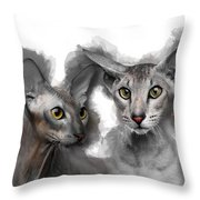 Paterbald Group No 01 Throw Pillow