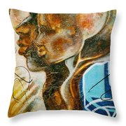 Paternal Captivity Throw Pillow