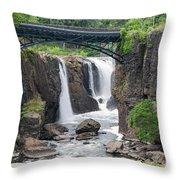 Paterson Falls Throw Pillow