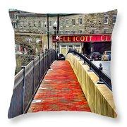 Path To Ellicott City Throw Pillow