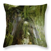 Path To Inner Peace Throw Pillow by Mary Hood