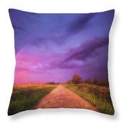 path to Phantasiland Throw Pillow