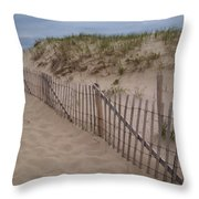 Path To Provincetown Throw Pillow