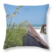 Path To Relaxation Throw Pillow