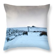Path To South Hessary Tor II Throw Pillow