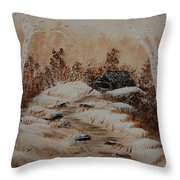 Pathway To Freedom Throw Pillow