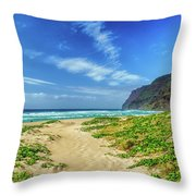 Pathway To Heaven Throw Pillow