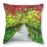 Serenity  Throw Pillow by Lisa Bentley