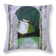 Pathway To Peacefullness Throw Pillow