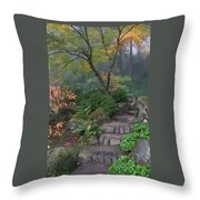 Pathway To Serenity Throw Pillow