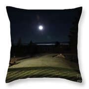 Pathway To The Moon Throw Pillow