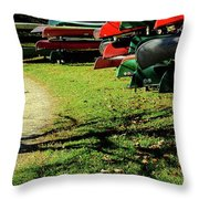Pathways Await Us All Throw Pillow