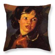 Patience 1915 Throw Pillow