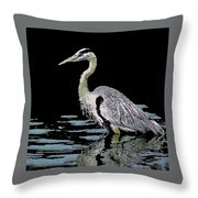 Patience On Little Lake Throw Pillow