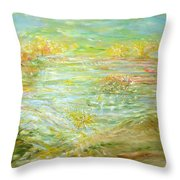 Patience Post Throw Pillow