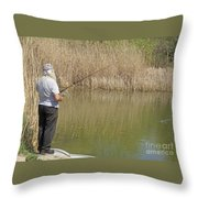 Patience Required Throw Pillow