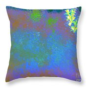 Patient Earth Throw Pillow