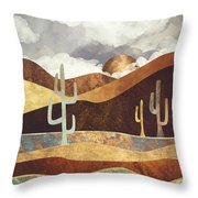Patina Desert Throw Pillow