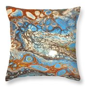 Patina Vanes  Throw Pillow
