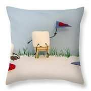 Patisserie Pastime Throw Pillow by Heather Applegate