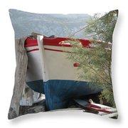 Patmos, Greece Life Throw Pillow