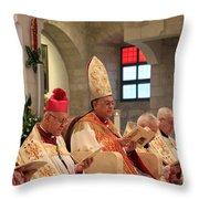 Patriarch Fouad Twal Throw Pillow