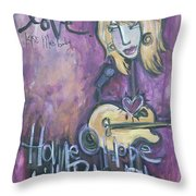 Patrice Pike Live Throw Pillow