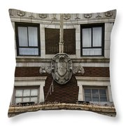 Patrick Henry Hotel Roanoke Virginia Throw Pillow