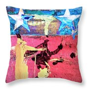 Patriot Act Throw Pillow