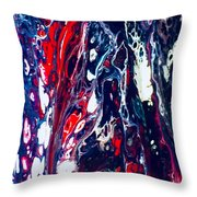 Patriot Forest Throw Pillow