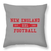 Patriots Retro Shirt Throw Pillow