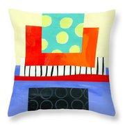 Pattern # 6 Throw Pillow