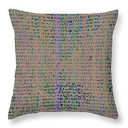 Pattern 102 Throw Pillow