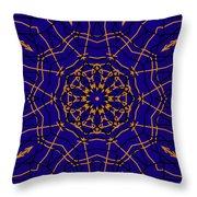 Kaleidoscope 840 Version 2 Throw Pillow