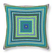 Pattern 122 Throw Pillow