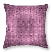 Pattern 67 Throw Pillow