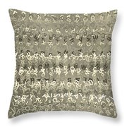 Pattern 71 Throw Pillow