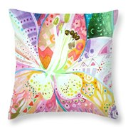 Pattern And Form II Throw Pillow